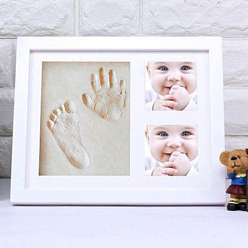 Baby Handprint, Footprint Picture Frame Kit, Unique Baby Shower Gifts Set  For Registry, Memorable Keepsake Box Decorations For Baby Shower Gifts - ...