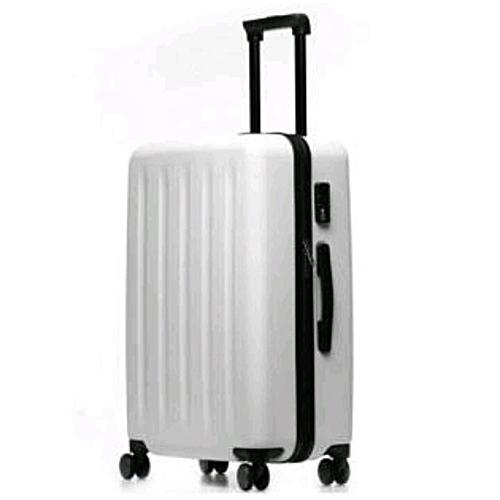 c232784b85f6 Hard Shell 4 Wheels Suitcase PC Luggage Travel Bag Case Cabin-white