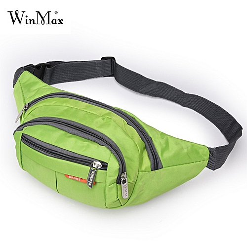9eaa9fb1a451 Winmax Multi-function Running Bags Waist Pack Sports Men Women Fitness Gym  Bag Outdoor Sport Bags Hiking Waterproof pocket Pouch(Green Color)