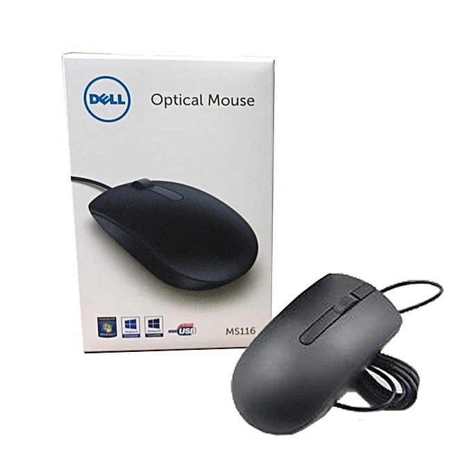 dell dell optical mouse ms116 best price jumia kenya. Black Bedroom Furniture Sets. Home Design Ideas