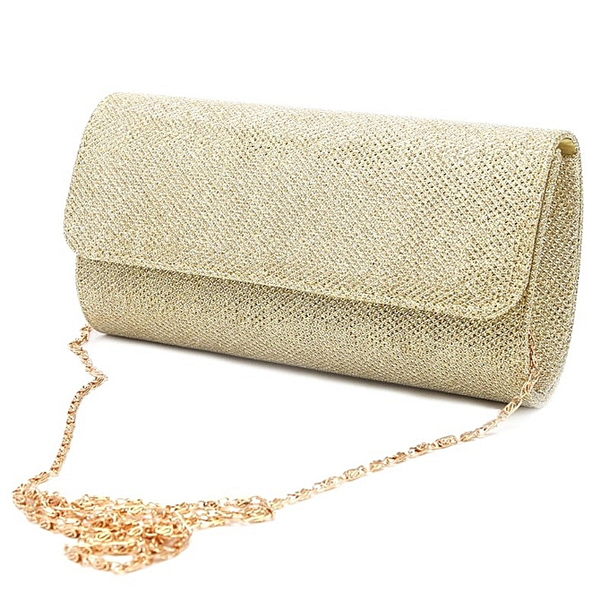 950f80c992ea Women's Evening Bag Clutch Purse Glitter Party Wedding Handbag with Chain
