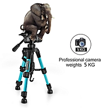ZT22 Tripod Camera Stand Mini Tripod Portable Compact 4 Height Adjust Aluminum QR Head Fashion Tripod Stand for Smart Phone Camera Tablet Projector