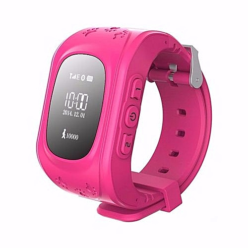Smart Baby Watch GPS Tracker For Kids Safe SOS Call Anti Lost Reminder