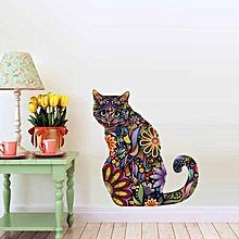 Three-dimensional Color Cat Pvc Wall Paste Children's Room Decorative Graffiti Creative Paste