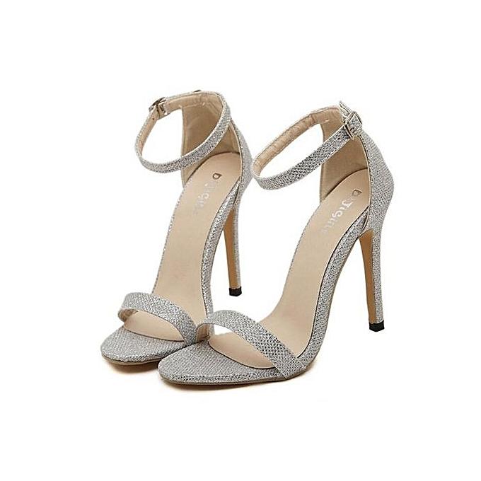 45940d962fc Sexy Women High Heels Sandals Shoes Woman Party Wedding Ladies Pumps Ankle  Strap Buckle Stilettos Sexy