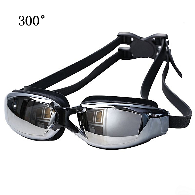 beda508d0e1 Generic Electroplating Anti-fog Silicone Swimming Goggles for Adults ...