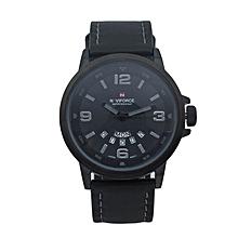 Black Army Military Design Watch