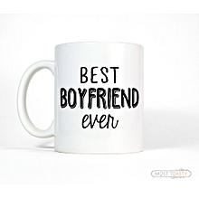 Best Boyfriend Ever Mug - White
