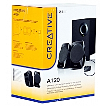 Creative 2.1ch stereo speakers SBS A120 Black SP-SBS-A12R2