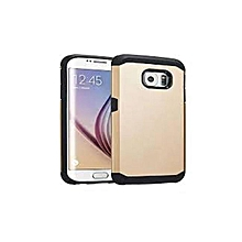 Galaxy S7 Edge – Armor Back Cover – Gold