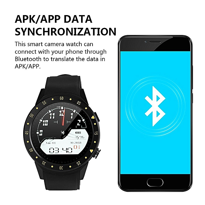 1 3in HP IPS Smart Watch Smart Sport Bracelet GPS Location Heart Rate and  Temperature Monitoring