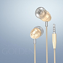 Xiuxingzi_HOCO M5 Universal 3.5mm In-Ear Stereo Earbuds Earphone With Mic For Cell Phone