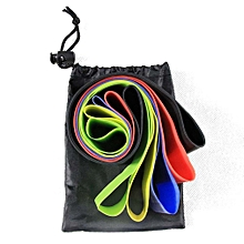 5Pcs Resistance Bands Yoga Straps Stretching Exercises Gym Training Pull Loops