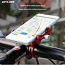 New Arrival GUB PLUS8 Aluminum Rotatable Bike Handlebar Mount Holder Phone Bracket 3.5-6.2 Inch Cell Phone Mount Bike Parts