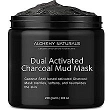 Dual activated Charcoal mud mask