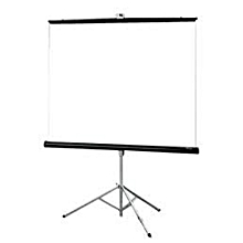 Portable/Tripod 70 inch projector screen 4:3