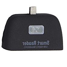 OTG mobile phone card reader black