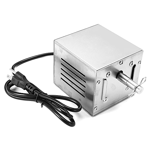 Stainless Steel Rotisserie BBQ Spit 240V Motor 40/80kgs Capacity [110V US Regulations]