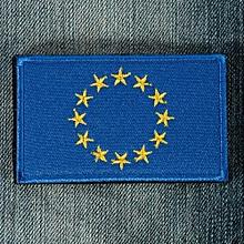 "Upick Nation Flag Emblem Iron On Patch Sew Embroidered Trim 2""x3"" Standard"