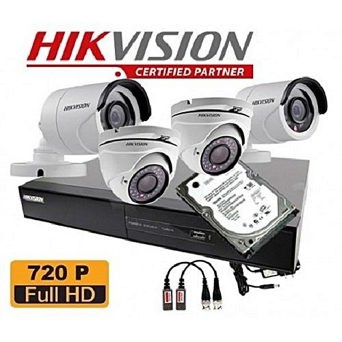 e647ff091 HikVision CCTV Security Cameras - 4 Channel kit   Best Price