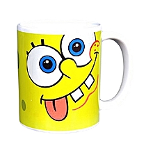 Coffee Mug with Sponge Bob Cartoon