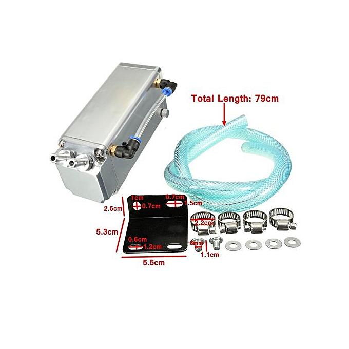 500ml Car Oil Reservoir Catch Tank Can For VW GOLF POLO VR6 MK1 MK2 MK3 MK4  MK5 Mhestore2009 Sliver