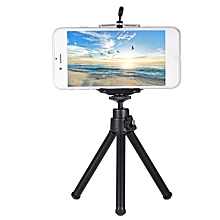 Phone Stand Tripod Smartphone Mini Tablet Holder Adjustable Foldable Phone Bracket