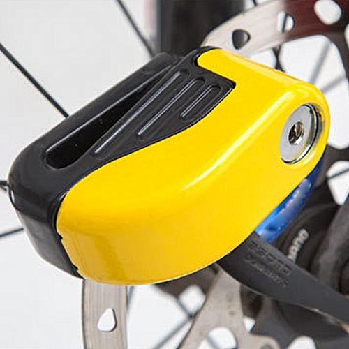 Bike Lock Small Alarm Lock Disc Brakes Fixed Anti Theft Security Bike  Accessorie