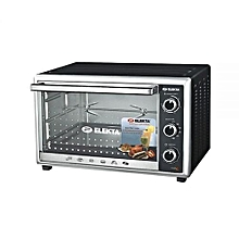 60L Electric Oven with Rotisserie - Stainless Steel