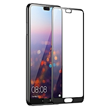 Huawei P20 Silk Screen Tempered Film For New P20pro HD Full Coverage Mobile Phone Protective Film Black