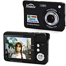 2.7 Inch TFT Screen 18.0MP CMOS 3.0MP Anti-shake Digital Video Camera With 8X Digital Zoom