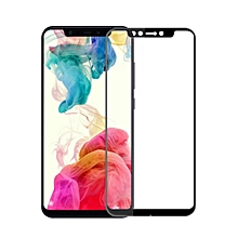 MOFI 9H 3D Explosion-proof Curved Screen Tempered Glass Film for Xiaomi Pocophone F1 (Black)