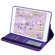 360 Degrees Rotating Stand PU Leather TPU Back Cover Protective Flip Folio Detachable Soft Rubber Case For IPad Mini 4