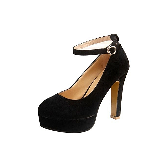 ce1cfe5e5ae1 Bliccol High Heel Shoes Fashion Women s Shoes Ankle Strap High Heels Shoes  Wedding Platform Pumps Shoes ...