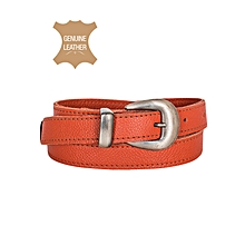 Orange Ladies Belt
