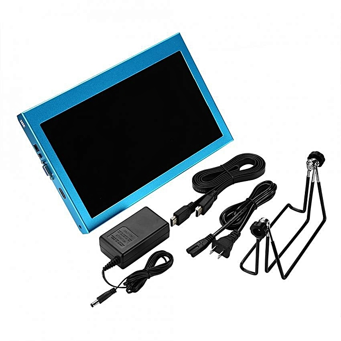 11 6Inch HD 1092*1080 LCD Screen Display Monitor For Raspberry Pi With  Power Adapter (US Plug)