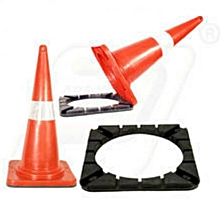 PE Cone with Rubber  base