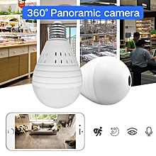 Spy Camera 1080P Bulb Light Wireless IP Camera 360 Degree Panoramic FishEye Security CCTV Camera Wifi P2P Motion Detection Camera IP LBQ