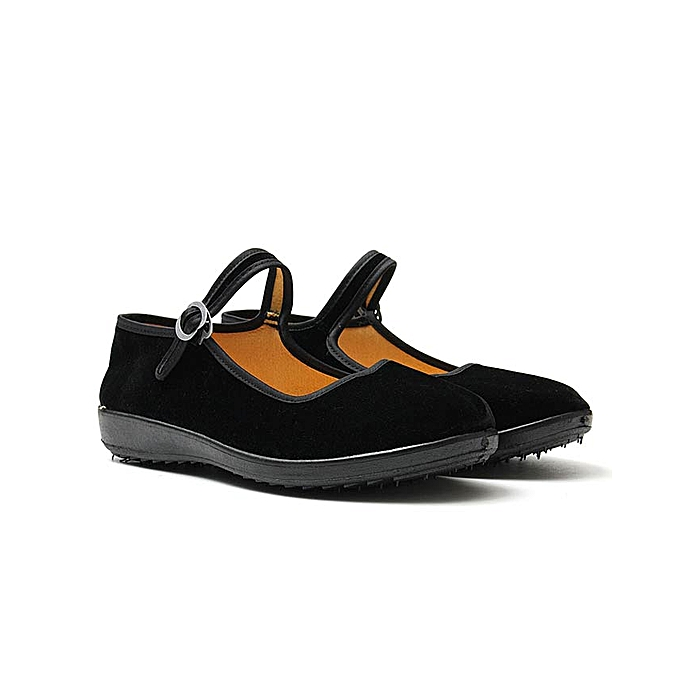 9c453e860 Women Ladies Ballerina Ballet Boat Shoes Mary Jane Work Velvet Rubber Flats