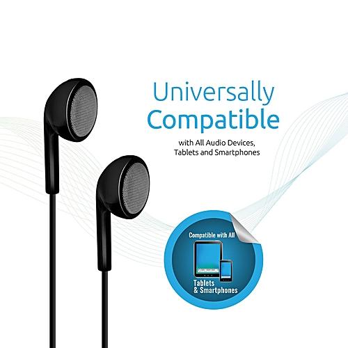 EARMATE.IS Black Multi-Functional Mono Hands-Free Headset with inbuilt mic