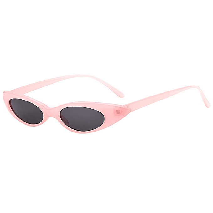 d22a786a6118f huskspo Retro Vintage Clout Cat Unisex Sunglasses Rapper Oval Shades Grunge  Glasses