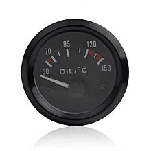 Audew 2 Inch Universal Car Oil Temperature Temp Gauge 50-150 With LED Light