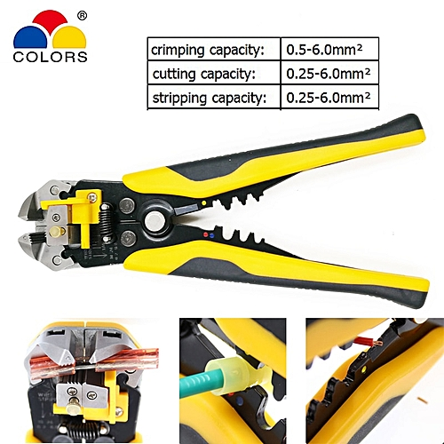 Pliers Multifunction Pliers Ye-1 Cable Cutter Stripper Crimper Terminal Automatic Electrical Pliers Self Adjustable Brand Tools Hand Tools