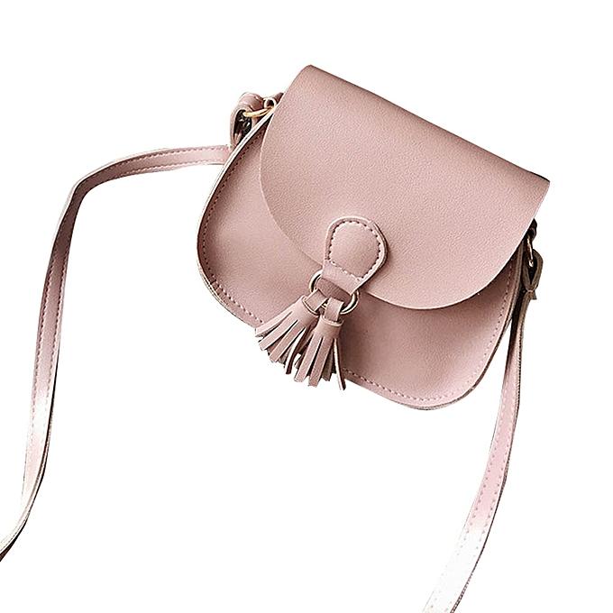 4e89a09ab8 Women Handbags Tassel Leather Cross Body Shoulder Bags Girls Messenger Bag  PK