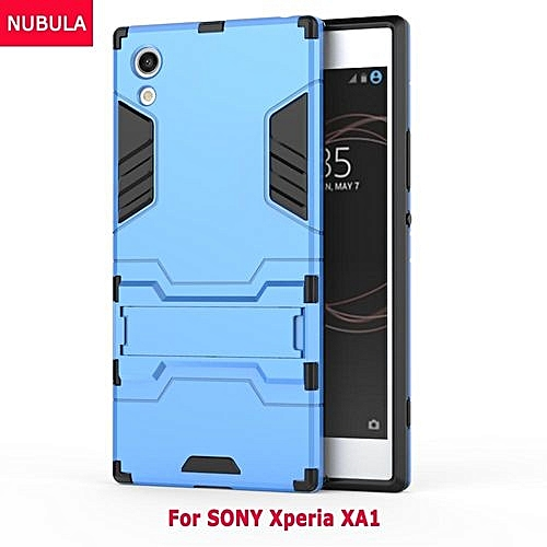 classic fit 6b880 5aa4a For SONY Xperia XA1 360 Degrees Ultra-thin Hard Back Cover Detachable 2 In  1 Hybrid Armor Shell Case Dual-Layer Full Protective Shockproof Case ...