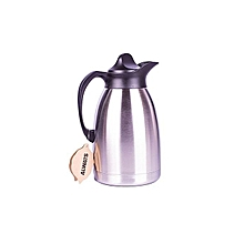 1.5 Litres Vacuum Thermos Flask - Stainless Steel .