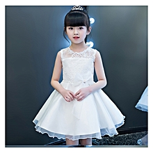 White party dress   Size 110