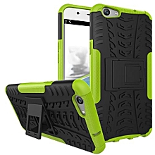 "For OPPO F1S Case, Hard PC+Soft TPU Shockproof Tough Dual Layer Cover Shell For 5.5"" OPPO F1S, Green"