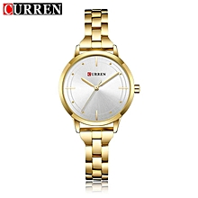 Ladies Calendar Water Resistant Stainless steel Fashion Wrist Watch