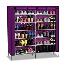 Portable Shoe Rack - Purple